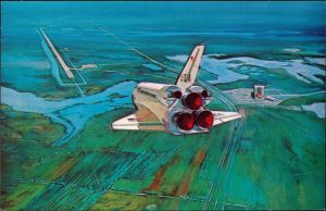 Orsino JOHN F. KENNEDY SPACE CENTER NASA Space Shuttle landing 1985