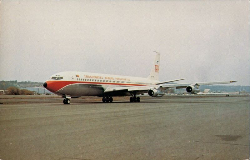 Santa Cruz de Tenerife TAP TRANSPORTES AEREOS PORTUGUESES Boeing 707-382B 1985