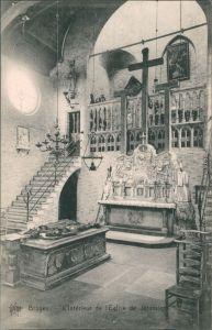 Brügge Brugge Bruges Eglise de Jerusalem/Innenansicht  Jerusalem Kirche 1913