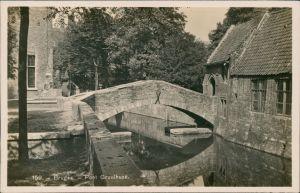 Postkaart Brügge Brugge | Bruges Pont Gruuthuse 1929
