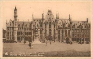 Postkaart Brügge Brugge | Bruges Hiotel du Gouvernment Provincial 1931