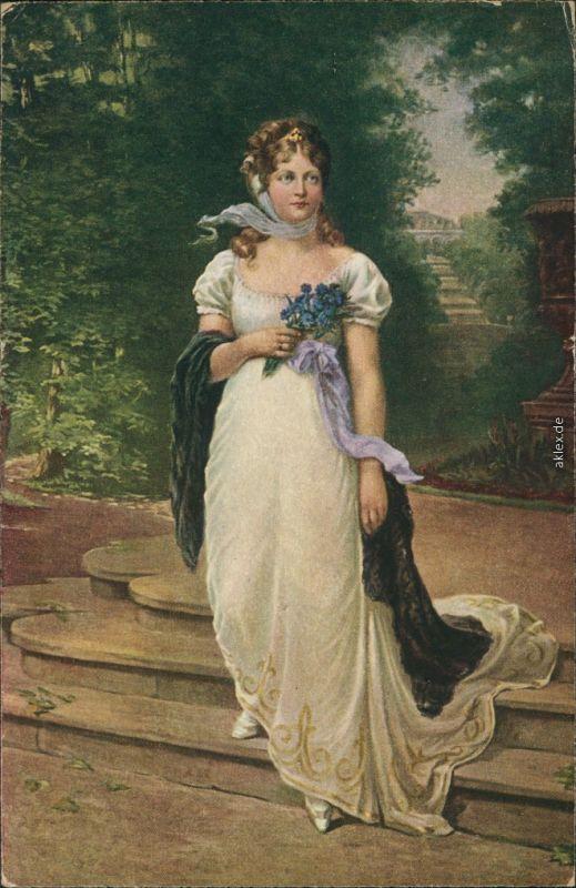 Luise von Mecklenburg-Strelitz ( Königin Luise von Preußen) 1914