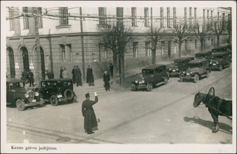 Riga Rīga Ри́га Straßenkreuzung - galves Judejimas 1935
