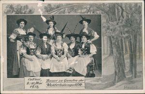 Ansichtskarte Cottbus Bazar zu Gunsten der Walderholungsstätte 1912