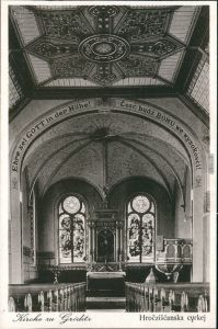 Ansichtskarte Gröditz Kirche 1928