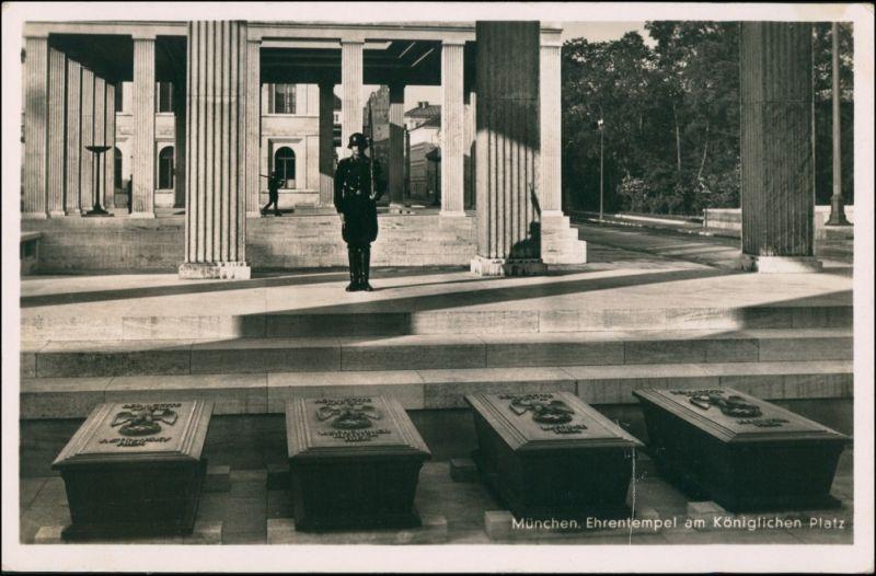München Soldat, Propaganda Ehrentempel am Königlichen Platz 1938