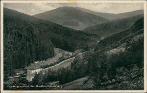 Postcard Glatz Kłodzko Partie im Klessengrund 1929