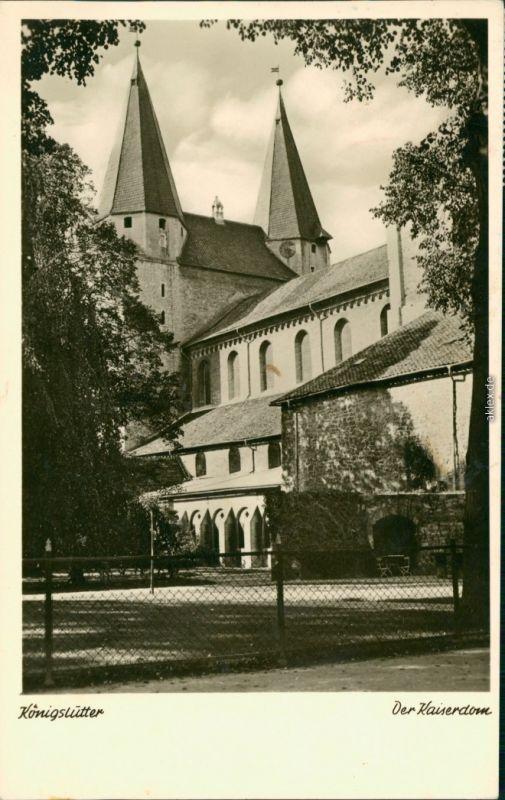 Ansichtskarte Königslutter (Elm) Kaiserdom (Königslutter) 1965