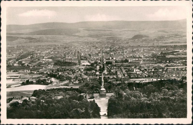 Bad Wilhelmshöhe-Kassel Cassel Blick vom Herkules  Schloss, Wilhelmshöhe  1930