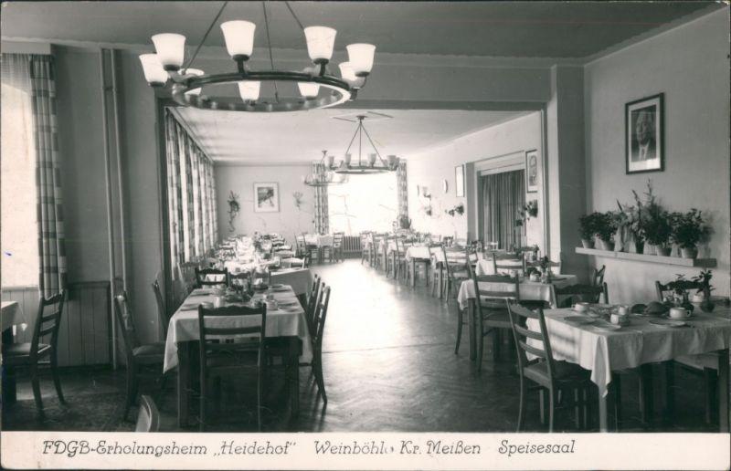 Ansichtskarte Weinböhla FDGB-Ferienheim
