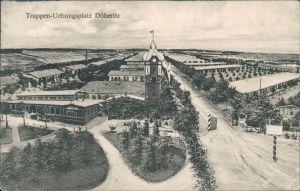 Ansichtskarte Dallgow-Döberitz Truppenübungsplatz - Barackenlager 1911