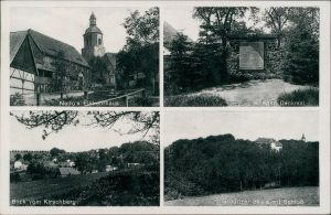 Ansichtskarte Gröditz-Weißenberg Wóspork 4 Bild: Stadt, Scala 1937