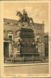 Ansichtskarte Berlin Haus - Denkmal Friedrich des Großen 1911