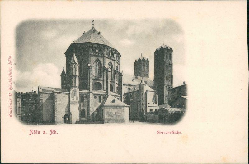 Ansichtskarte Köln Gereonskirche 1907