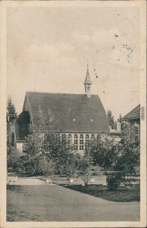 Ansichtskarte Bad Reiboldsgrün (Vogtland) Heilstätte Carolagrün 1916
