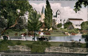 Ansichtskarte Paderborn Paderquellgebiet 1957