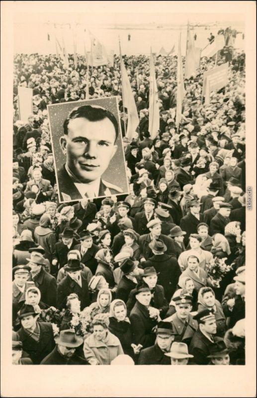 Juri Gagarin war nicht allein im All. Sowjetbürger, Propaganda 1961