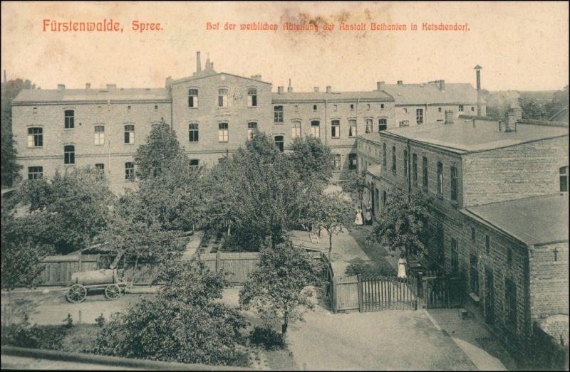 Fürstenwalde Spree Hof weiblichen  Anstalt Bethanien Samariteranstalten 1911