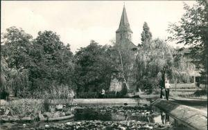 Ansichtskarte Sandersdorf-Sandersdorf-Brehna Platz der Freiheit 1961