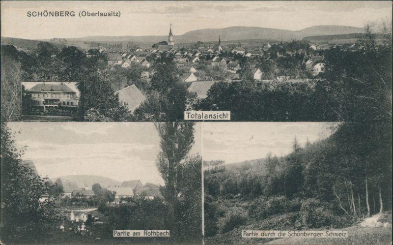 Schönberg (Oberlausitz) Sulików  Rothbach, b Görlitz e 1926