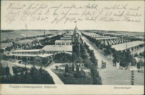 Ansichtskarte Dallgow-Döberitz Barackenlager 1912