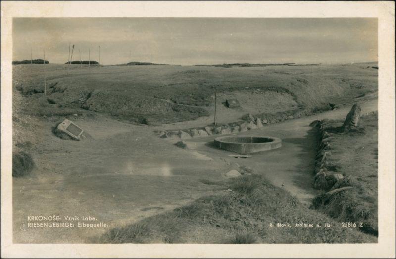 Spindlermühle Špindlerův Mlýn | Spindelmühle Riesengebirge - Elbquelle 1932