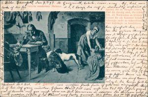 Künstlerkarte: Kunstwerke - Galerie moderner Meister - Die Bettler 1916