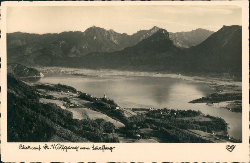 St. Wolfgang im Salzkammergut Rettenkogel, Rinnkogel, Sparber u. Pleckwand 1932