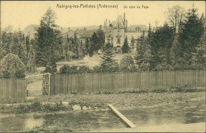 CPA Aubigny-les-Pothées Un coin du Pays 1915