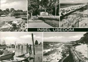 Insel Usedom: Zempin, Kölpinsee, Trassenheide, Karlshagen Hafen, Koserow 1982