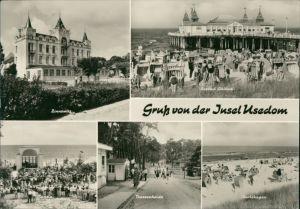 Usedom Zinnowitz, Seebrücke - Ahlbeck, Bansin  Trassenheide, Karlshagen g1974