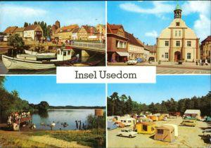 Wolgast Am Hafen, Wolgast - Rathaus, Am Kölpinsee, Zempin - Campingplatz g1980
