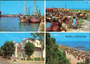 Usedom Karlshagen, Fischerhafen, Trassenheide, Konsum Strandhalle,  1980