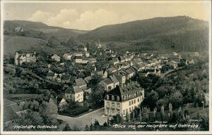 Bad Gottleuba-Bad Gottleuba-Berggießhübel Panorama-Ansicht über den Dächern 1932