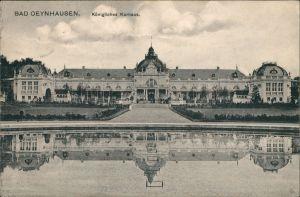 Ansichtskarte Bad Oeynhausen Königliches Kurhaus 1916