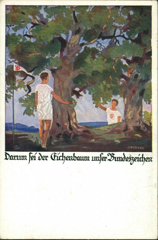 Deutschland Darum sei der Eichenbaum - Deutscher Turnerbund 1930