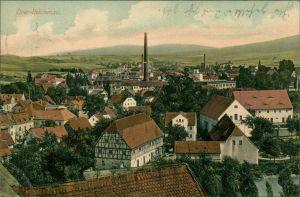 Reichenau in Sachsen Bogatynia Fabrik, Fachwerkhaus - Straße 1909