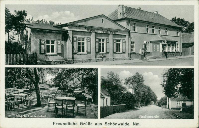 Schönwalde Neumark-Sternberg (Neumark) Prześlice Torzym 3B Gasthof, Straße 1940