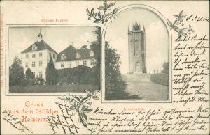 Panker (bei Lütjenburg) 2 Bild: Schloss Panker, Lessenstein 1908