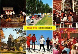 Wasserfall-Bestwig Fort Fun Abenteuerland, Festung des Spaßes 1990