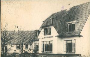 Postkaart Bennekom Hotel-Pension De Boschbeek 1947