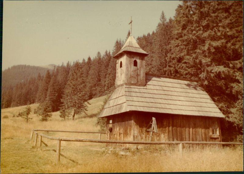 Koscielisko Kościelisko Kaplica na Polanie Chochołowskiej/Holzkapelle 1983