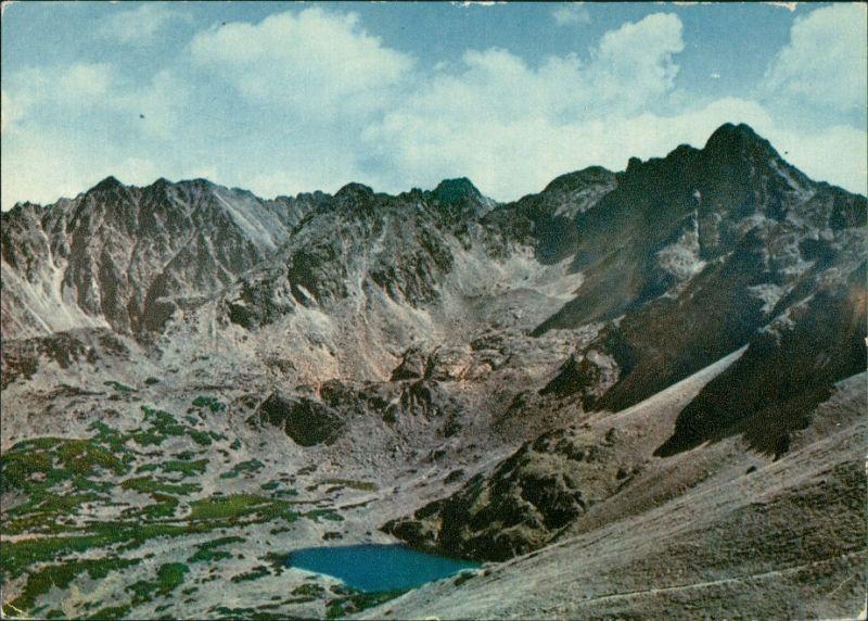 Zakopane Widok z Kasprowego Wierchu Kasprowy Wierch (1987m) Hohe Tatra 1961