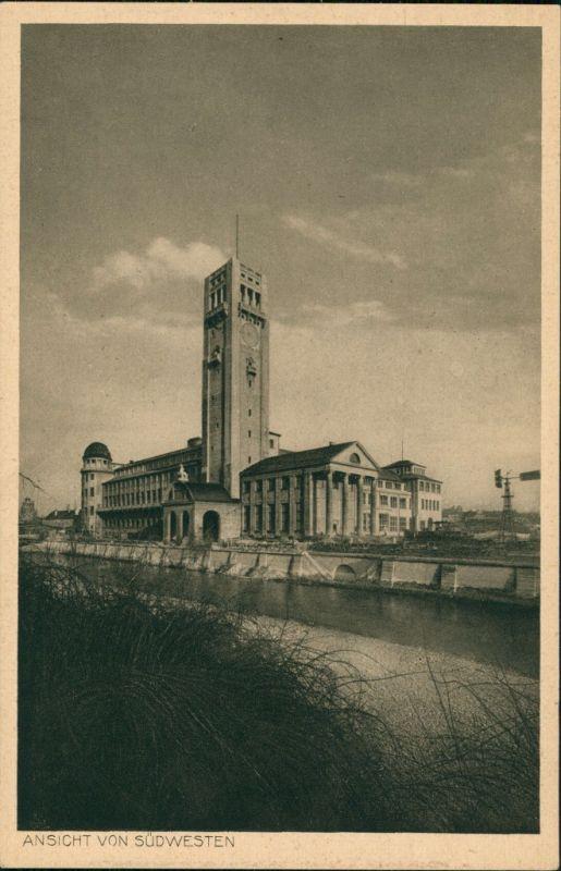 Ansichtskarte München Deutsches Museum - Südwestansicht 1928