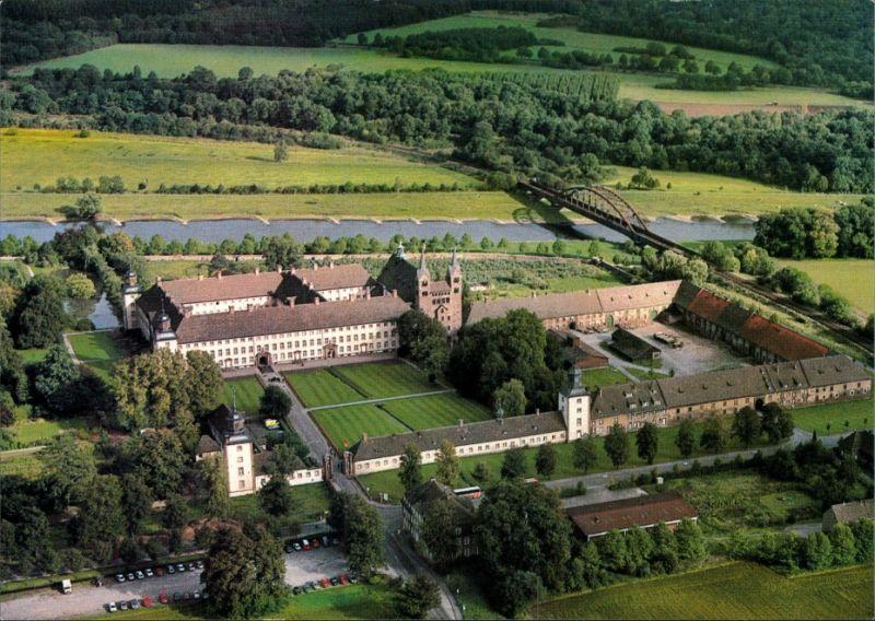 Ansichtskarte Höxter (Weser) Kloster Corvey 1995
