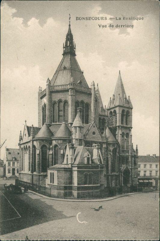 CPA Bonsecours La Basilique Vue de derrière 1918