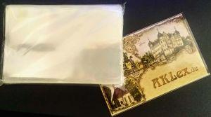 100 Ansichtskarten Schutzhüllen KOBRA T12 Postkarten Fotos Maße 97x149x0,075mm