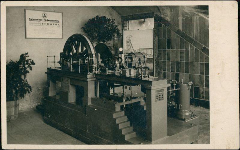 Dampfmaschinen / Industrie - Treibscheiben - Fördermaschine - Lehrwerk 1930