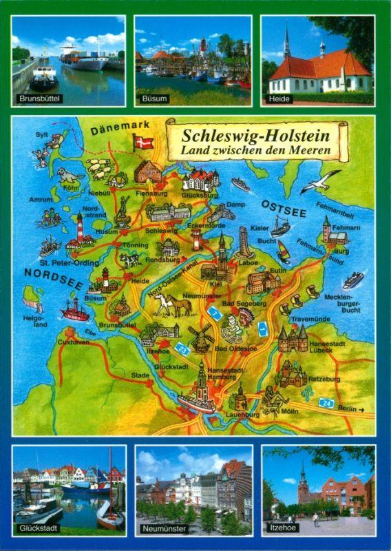 _allgemein Schleswig Holstein Deutschland - Schleswig-Holstein - Brunsbüttel - Büsum - Heide - Glückstadt - Neumünster - Itzehoe 1988