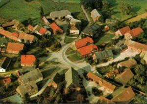 Ansichtskarte Lüchow (Wendland) Wendischer Rundling Reetze 1985